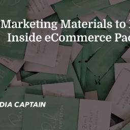 Marketing Materials to Include Inside eCommerce Packaging