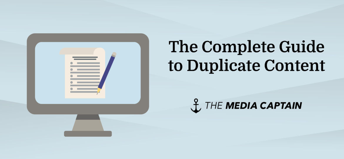 the complete guide to duplicate content